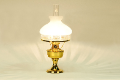 Aladdin Brass Table Lamp ** N601 glass shade **** ** 100007463