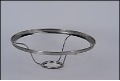 "LIMITED SUPPLY THEN RETIRED *** 1080 ss - 10"" Under Burner Shade Ring  - (Stainless Steel)"