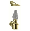 DHR Gimbal Brass Oil Lamp with Smoke Bell  **  (weems & Plath) *