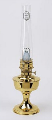 "B2301 Brass Heritage Aladdin ""ELECTRIC ""  Table Lamp **** Limited time offer ***"