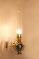 * BW225 Deluxe Brass CLASSIC Wall Bracket Aladdin Lamp (SKU: BW225  CLASSIC bracket)