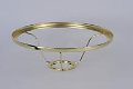 "401 RB Shade Ring ** Back Ordered ** Fits ALL 10"" Aladdin Shades (BRASS)"