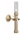Sorensen Ship's  Brass Oil Lamp (ES 50 02 21) **  (Weems & Plath) (SKU: ES 50 02 21)