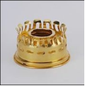 Oil Gallery for Aladdin Oil Lamps (Model 7-23) - (heelless) - (Brass)