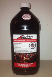 """ OIL -WATER CLEAR - CASE of (4) LARGE 100 oz """" - GENUINE ALADDIN LAMP OIL 100 oz size  ***** 4 IN A CASE ***** (can NOT send to Canada or Hawaii)"