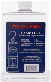 "Weems and Plath Lamp Fuel ""Quart"" (ONLY for use with weems &  plath lamps) NOT FOR ALADDIN OIL LAMPS"