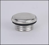 Fuel Filler Plug w/Gasket, for most Nickel Aladdin Oil Lamps -  (Nickel)