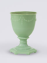 Florentine Vase ONLY Green, Pink or Alacite (cream)