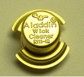 "1"" BRASS wick trimmer for all Aladdin Oil Burners"