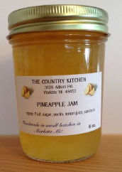 Amish Pineapple Jam 10 oz The Country Kitchen