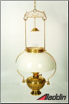 Aladdin® Schoolhouse DOUBLE FLAT WICK Hanging Oil Lamp ***NON-MANTLE***