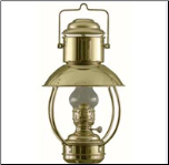 DHR Trawler Lamp, Oil  (or electric) **  (weems & Plath) **