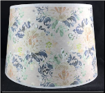 "NEW Parchment  Aladdin Oil Lamp Shade 12"" ""FLORAL Parchment"" *** Made in the USA ***"