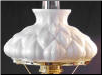 Artichoke Aladdin Oil Lamp Shade (Opal) ** Limited Supply then RETIRED ** (SKU: M200)