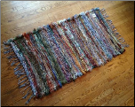Hand Woven Amish made Rug