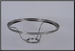 "LIMITED SUPPLY THEN RETIRED *** 1080 ss - 10"" Under Burner Shade Ring  - (Stainless Steel) (SKU: 1080SS)"
