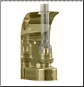 DHR Wall Lamp - Brass Oil Lamp  **  (weems & Plath) (SKU: 8807)