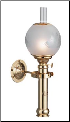 Sorensen Captain's Cabin Lamp w/ship Globe, Oil ** Weems** (SKU: ES 50 03 04)