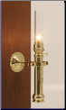 Danish Ship Sorensen Brass Lamp, Oil  **  (Weems & Plath) (SKU: ES 50 02 21)