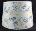 "** Parchment Aladdin Oil Lamp Shade 12"" ""FLORAL Parchment"" *** Made in the USA *** (SKU: FLORAL 100019647)"