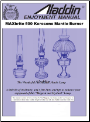 Aladdin Enjoyment Manual for MAXbrite 500 ** (SKU: Manual Model MaxBrite 500 also good for Model 23)