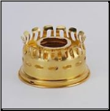 Oil Gallery for Aladdin Oil Lamps (Model 7-23) - (heelless) - (Brass) (SKU: N239AB)
