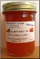 "Amish Golden Peach Jam 10 oz "" Pectin FREE""  The Country Kitchen (SKU: Golden Peach Jam)"
