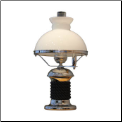 Spinnaker Lamp  ** ELECTRIC** Chromed brass*** Weems & Plath *** (SKU: 3135)