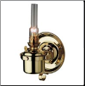 DHR Berth Lamp - Brass Oil Lamp  **  (weems & Plath) (SKU: 8840)